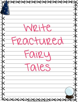 Fairy tale writing paper