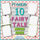 Fairy Tale Writing Papers (Free)
