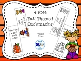 Free Fall Bookmarks