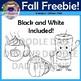 Free Fall Clip Art (Pumpkin Spice Latte, Coffee, Hot Chocolate)