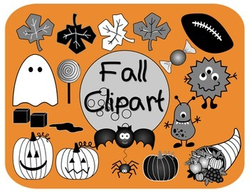 Fall Clipart for Commercial Use
