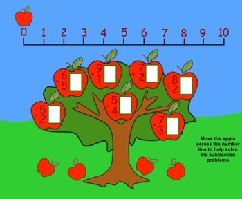 Free Fall Counting K-1 (Interactive Smartboard Lesson and Printables)