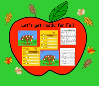 Free Fall Counting K-1 (Interactive Smartboard Lesson and