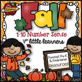 Fall Kindergarten Math