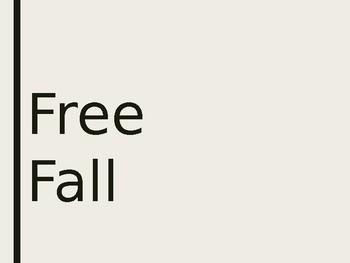 Free-Fall Notes