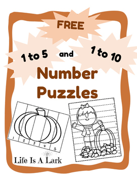 Free Fall Number Puzzles