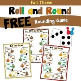 Free Fall Rounding Game using 2 Digit, 3 Digit, or 4 Digit Numbers