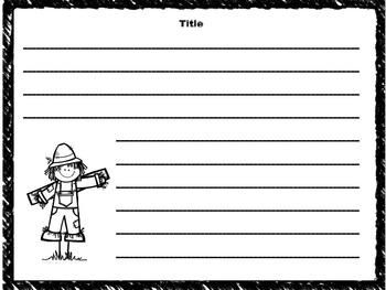 Free Fall Writing Templates