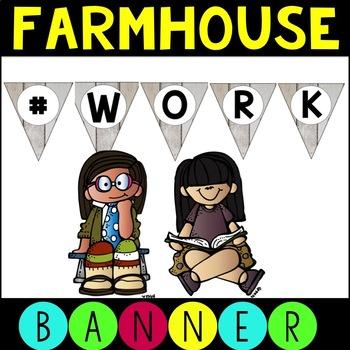 Free Farmhouse Decor Banner - #work