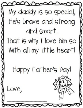 Dynamic image regarding printable fathers day poems