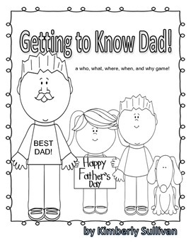 Free Downloads Father's Day Game! Easy Copies! Printables!