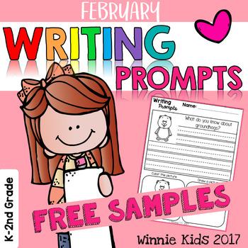Free February Writing Prompt