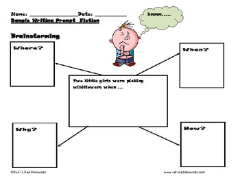 Free Fiction Writing Prompt for Primary Students