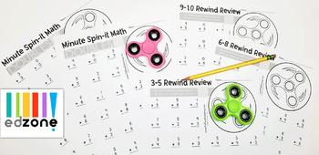 Free Fidget Spinner Math Worksheets: Addition