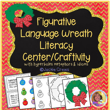Figurative Language Core-Aligned Wreath Craftivity Sort