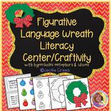 Figurative Language  Wreath Craftivity Sort (Core-Aligned)