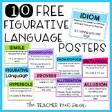 Free Figurative Language Posters
