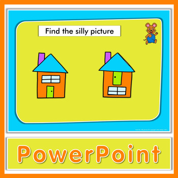 Free! Find the silly picture - Kindergarten and pre-K game