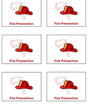 Free Fire Safety Badge