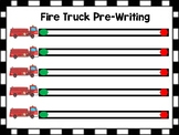 Free Fire Truck Pre-Writing