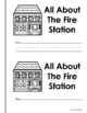 Free Firefighter Emergent Reader and Extras