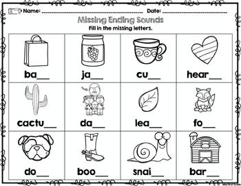 Free First Grade Back to School Printables: Math & ELA