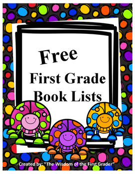 First Grade Book List