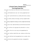 Free First Grade Fluency Passage