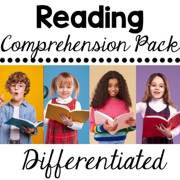 Free Reading Comprehension and Fluency Pack Preview