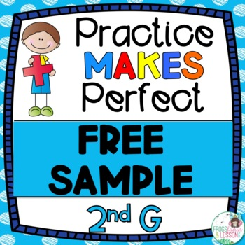 Free Second Grade Math Practice Worksheets