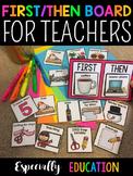 Teacher First Then Board (Free)