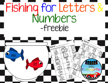 Free Fishing for Letters and Numbers