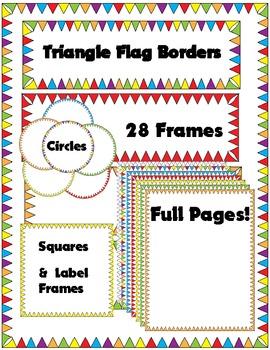 28 Flag Borders