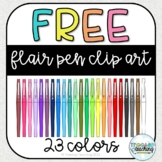 Free Flair Pen Clip Art