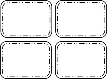 photograph regarding Printable Flashcards Template known as Totally free Flashcards Templates
