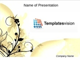 Free Floral (Flower) PPT Template