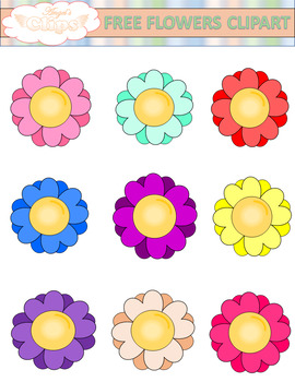 Free Flower Clipart (Angel's Clips)