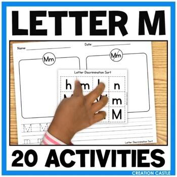 Free Focus on the Alphabet Sample - Letter M