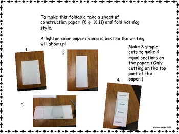 Free Foldable