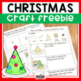 Free Following Directions Christmas Tree Craft