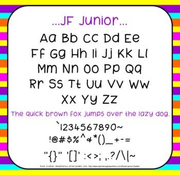 Free Font: Junior (True Type Font)