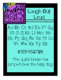 {Free Font} Laugh Out Loud {Creative Clips Fonts}