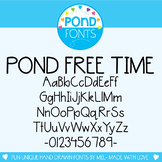 Free Font - Pond Free Time