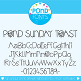 Font - Pond Sunday Toast