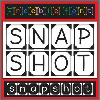Free Font: Snapshot (True Type Font)