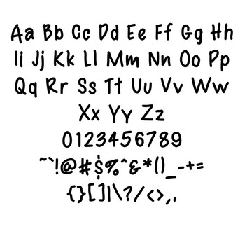 FREE TTP Handywork - font for personal and commercial use