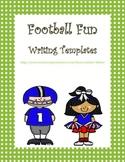 Free Football Fun Writing Templates
