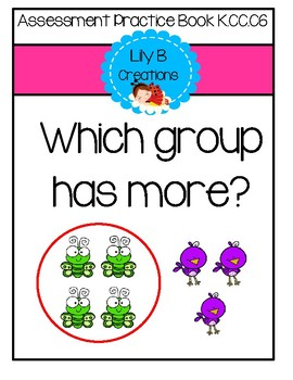 Assessment Practice Book - Which group has more?