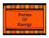 Free Forms of Energy Posters - Sound, Light and Heat