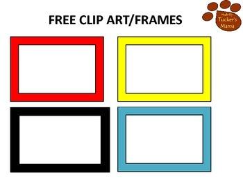 Free Frames -Clip Art